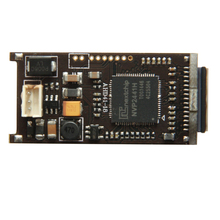 AHD 1080P 2MP 1/3″ Sony CMOS IMX322 + NVP2441H DSP 0.001lux AHD Mini Bullet CCTV board camera module chip free shipping
