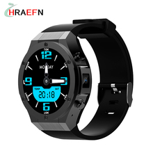 Hraefn H2 GPS Smart Watch Android 5.1 Heart Rate monitor Smartwatch support WIFI SIM 5.0M Camera ROM 16GB RAM 1GB Pk Kw88 KW98
