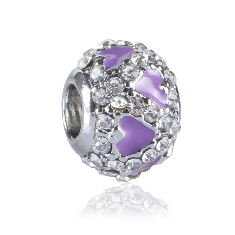 What Jewelry Store Sells Pandora: Yabel European Hot Sell Crystal Alloy Beads For Jewelry