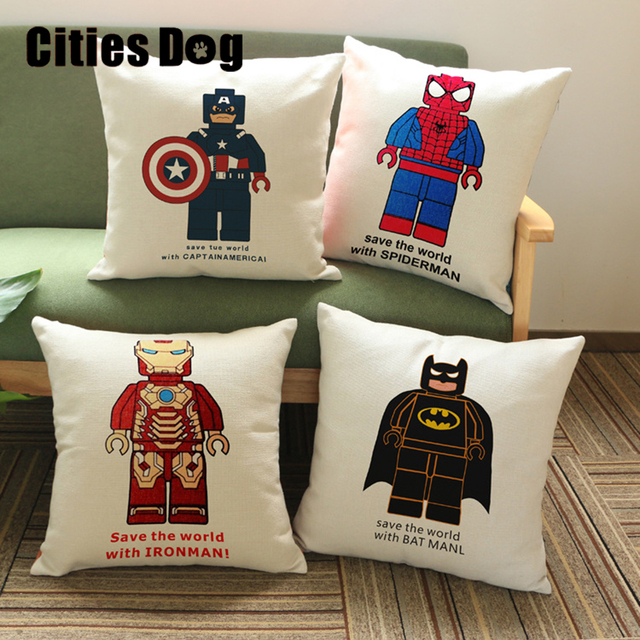 Lego Throw Pillow And Blanket Set : 18
