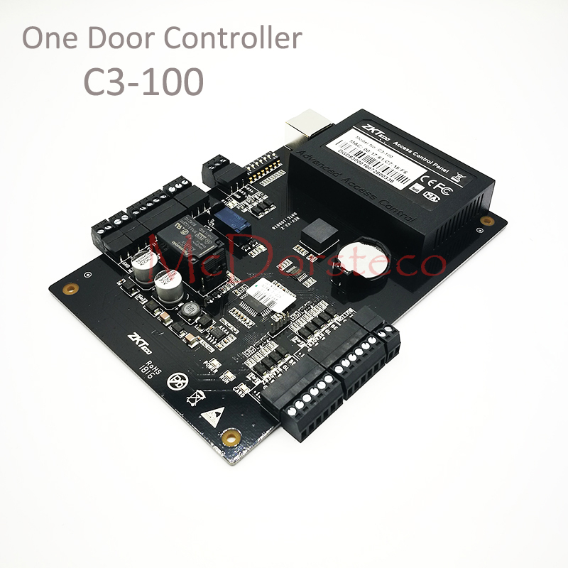 ZK C3-100 Tcp/Ip Rfid Access Control System One door Security Access Controller IP-based Single Door Access Control Panel ZK C3-100 Tcp/Ip Rfid Access Control System One door Security Access Controller IP-based Single Door Access Control Panel
