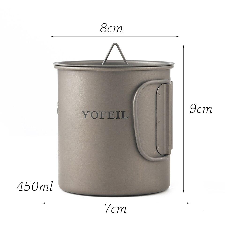copo de titanio para acampamento 450 ml 02