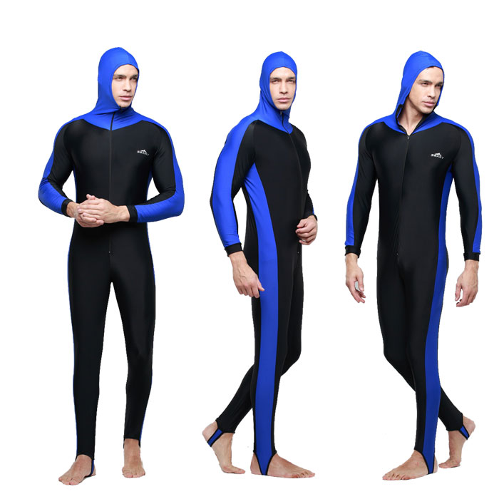 2016 SBART Scuba Diving Suit For men Wet Suit 2015 New Floral Print Hooded Full Body Surfing Wetsuit Diving Clothes