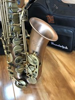 France Jonathan JNA 680L High Quality Brush Lacquer Red Copper Alto Saxophone E Flat Brass Instruments