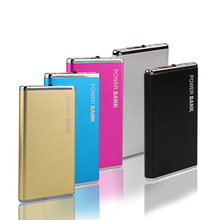 DCAE New Power Bank 5600mAh Portable Metal Case Li-Polymer External Battery Charger Powerbank For All Phone