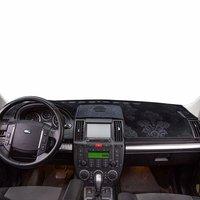 Für Land Rover Freelander LR2 2006 2014 Flanell Dashmats Dashboard Abdeckungen Dash Pad Auto Matte Teppich Zubehör 2007 2008 2009-in Auto-Anti-Schmutz-Pad aus Kraftfahrzeuge und Motorräder bei