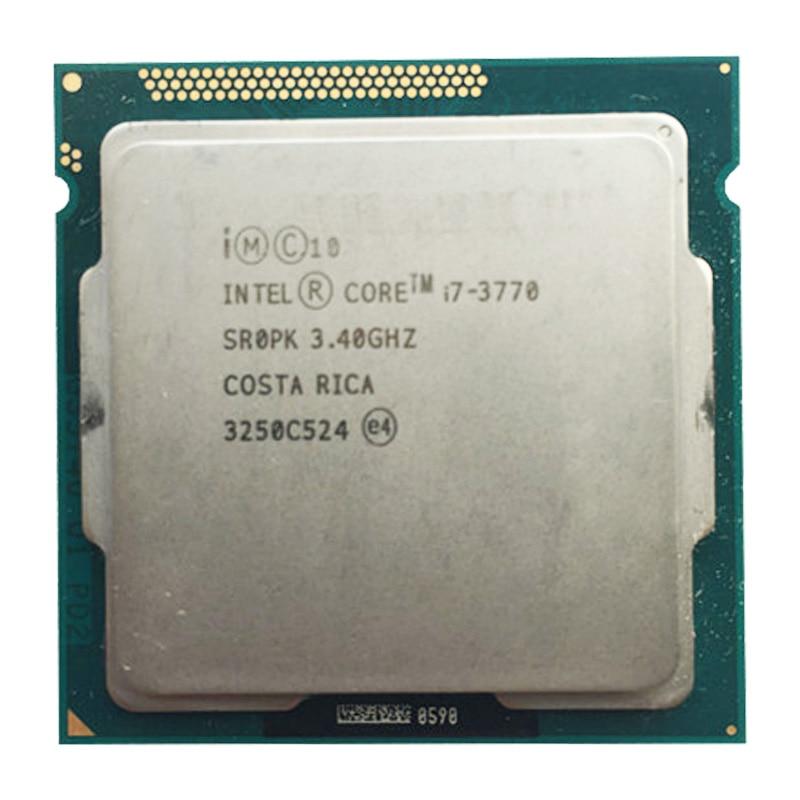 Intel Core I7 3770 3.4GHz 8MB Desktop CPU Processor SR0P0 Socket H2 LGA1155 I7-3770 Cpu