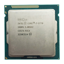 Intel Core I7 3770 3.4Ghz 8Mb Desktop Cpu Processor SR0P0 Socket H2 LGA1155 I7-3770 Cpu