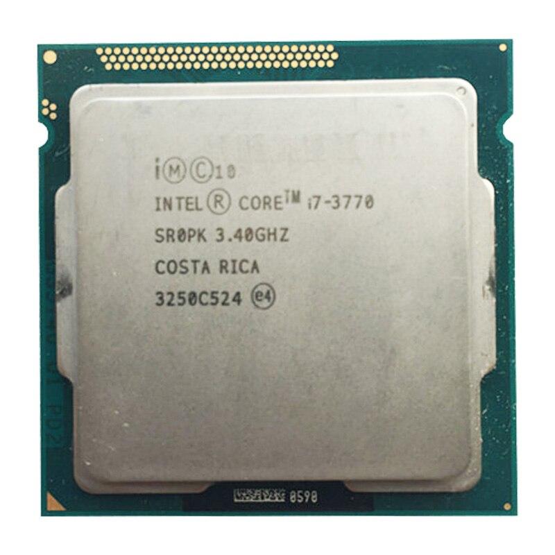Intel core i7 3770 3.4GHz 8MB pulpit procesor cpu SR0P0 gniazdo H2 LGA1155 i7-3770 procesora