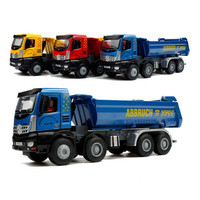 Alloy Dump Truck Model Dumpers Diecast Metal ABS Engineering Vehicle Dinky Toys For Children Brinquedos Kids