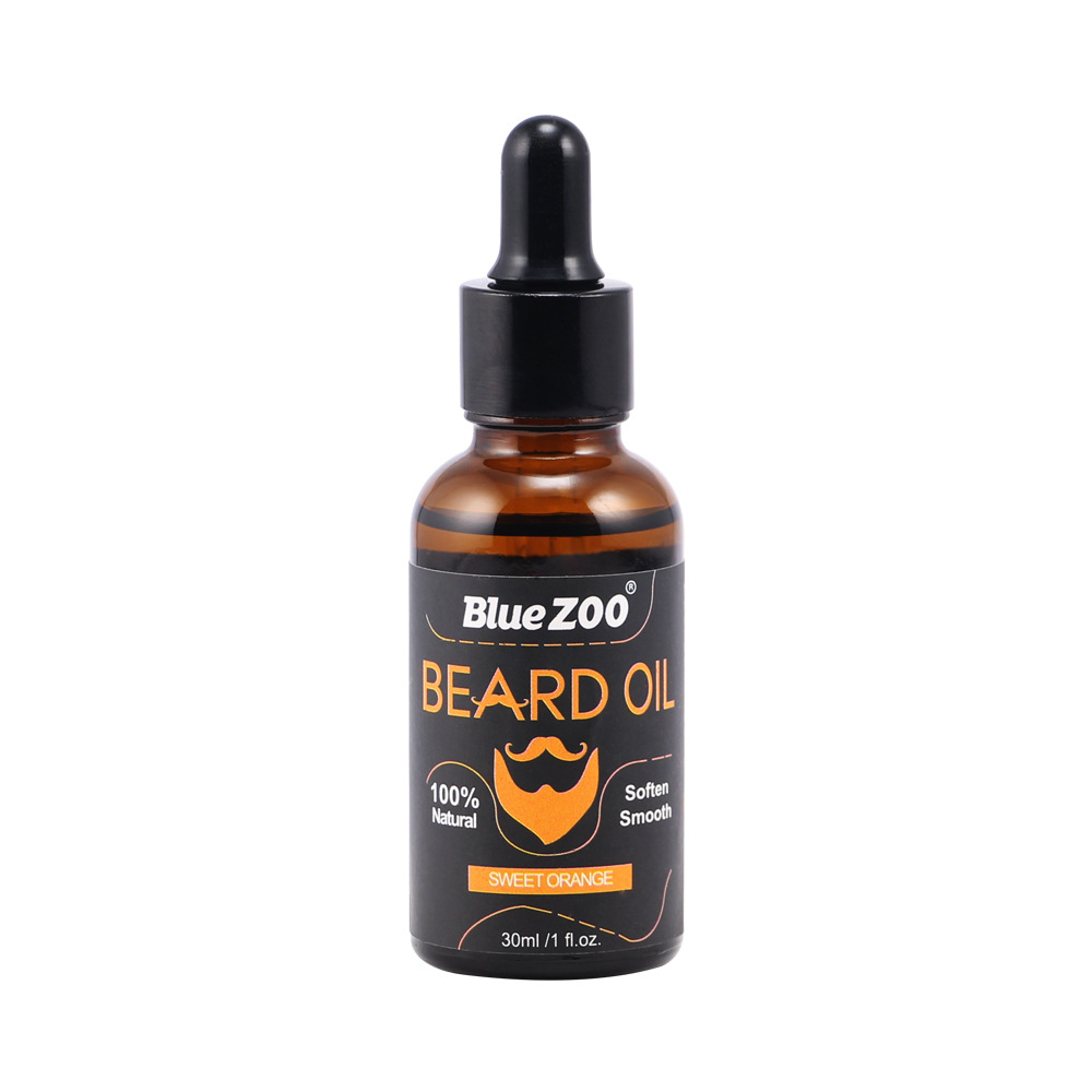 Natural Organic Moustache Oil Conditioner Healthy Beard Styling Aftershave for Men Beard Oil Hair Products 30ml Islamabad