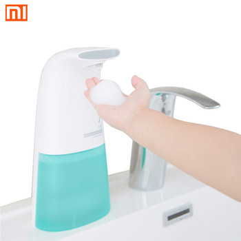 Xiaomi Mijia plato de espuma sin contacto automático induce dispensador de jabón de lavado de espuma Sensor automático desinfectante de manos dispensadores de espuma