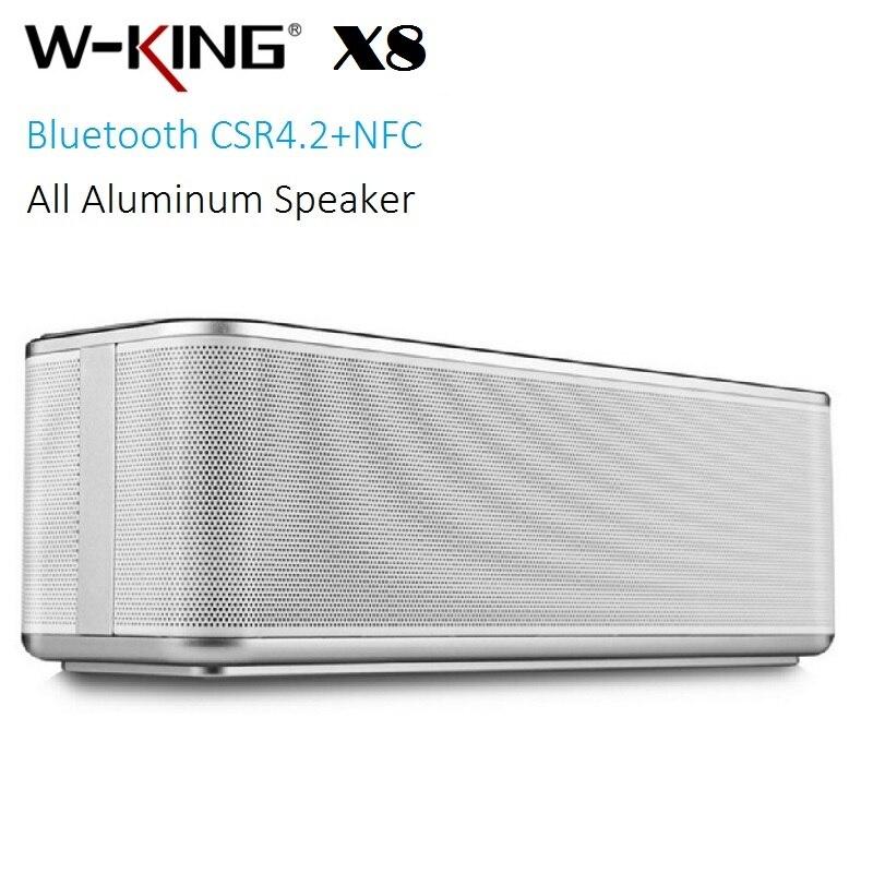 W-King X8 Portable Bluetooth רמקול כמו אלמנטים T6 - אודיו ווידאו נייד