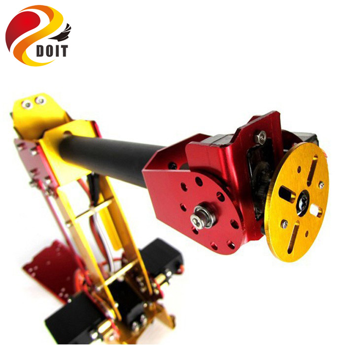 6DOF zasilany pulpit mechanizm równoległy metalowe ramię robota PalletPack ramię robota przemysłowego w Figurki i postaci od Zabawki i hobby na  Grupa 3