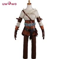 DEFECTIVE COSTUME CLEARANCE SALE Cirilla Fiona Elen Riannon Cosplay The Witcher 3 Wild Hunt Ciri Uwowo