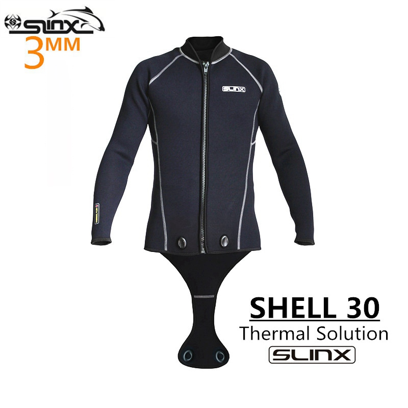 SLINX Men 3mm Neoprene Men Scuba Diving Suit Snorkeling Spearfishing Wetsuit Surfing Windsurf Keep Warm Jacket Connecting crotch spearfishing wetsuit 3mm neoprene scuba diving suit snorkeling suit triathlon waterproof keep warm anti uv fishing surf wetsuits