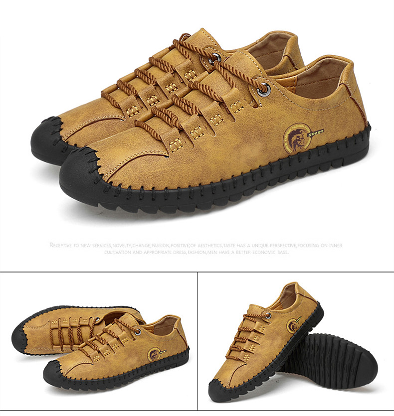 HTB11xVgazvuK1Rjy0Faq6x2aVXaf - 2019 New Fashion Leather Spring Casual Shoes Men's Shoes Handmade Vintage Loafers Men Flats Hot Sale Moccasins Sneakers Big Size