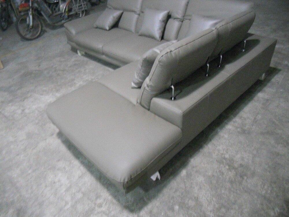 ægte læder sofasnit i stuen sofahjørne hjemmemøbler sofaer med - Møbel - Foto 3