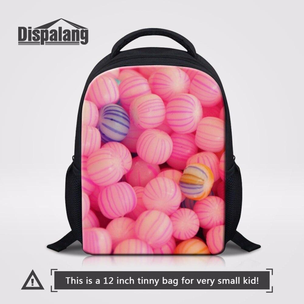 Dispalang Candy 12 Zoll Kleine Schule Rucksack Für Kleine Mädchen Kindergarten Student Bookbag Kleinkind Schul Mini Kinder Vorschultasche Elegante Form