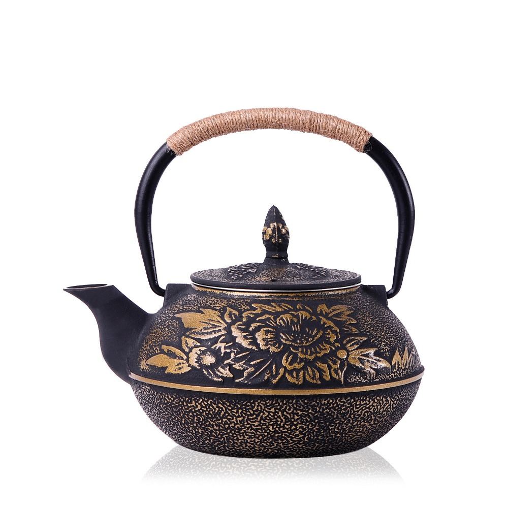 Asian tea pot set