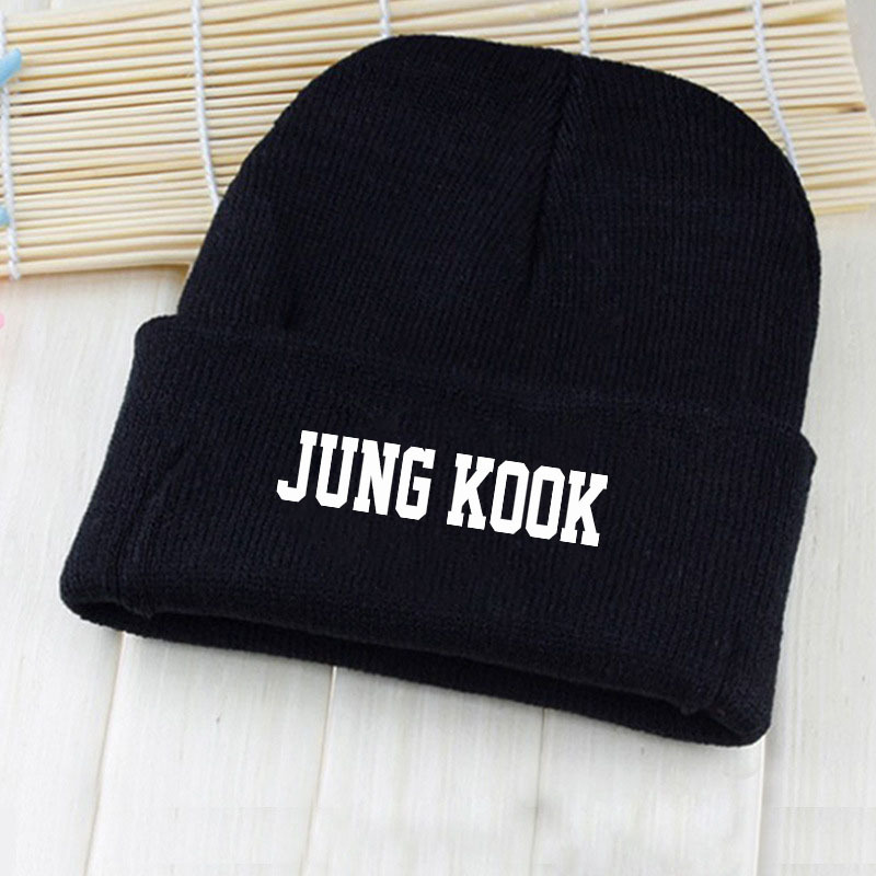 34ce41bcb7c 2018 KPOP Harajuku BTS Bangtan Boys New Autumn Winter Warm Hat Casual  Letter Printed Baseball Cap