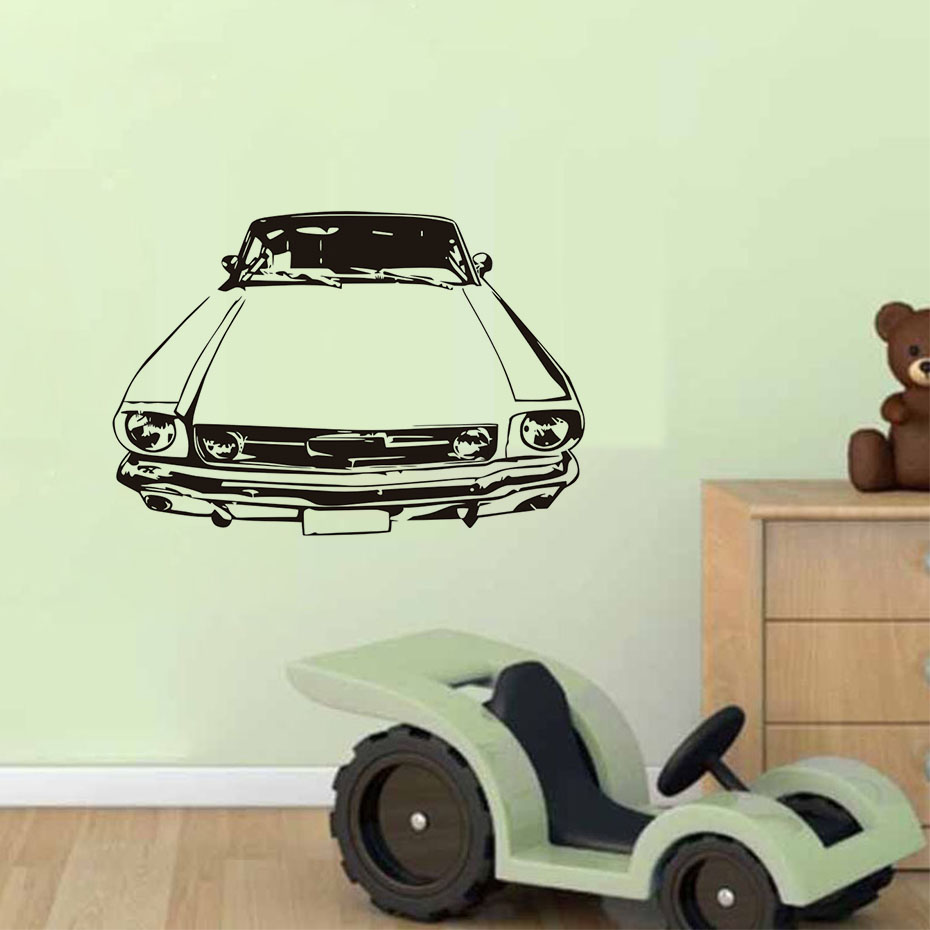 compare prices on vintage car interiors online shopping buy low retro car vinyl wall decal stickers classic vintage car home interior removable wallpaper bedroom decals home