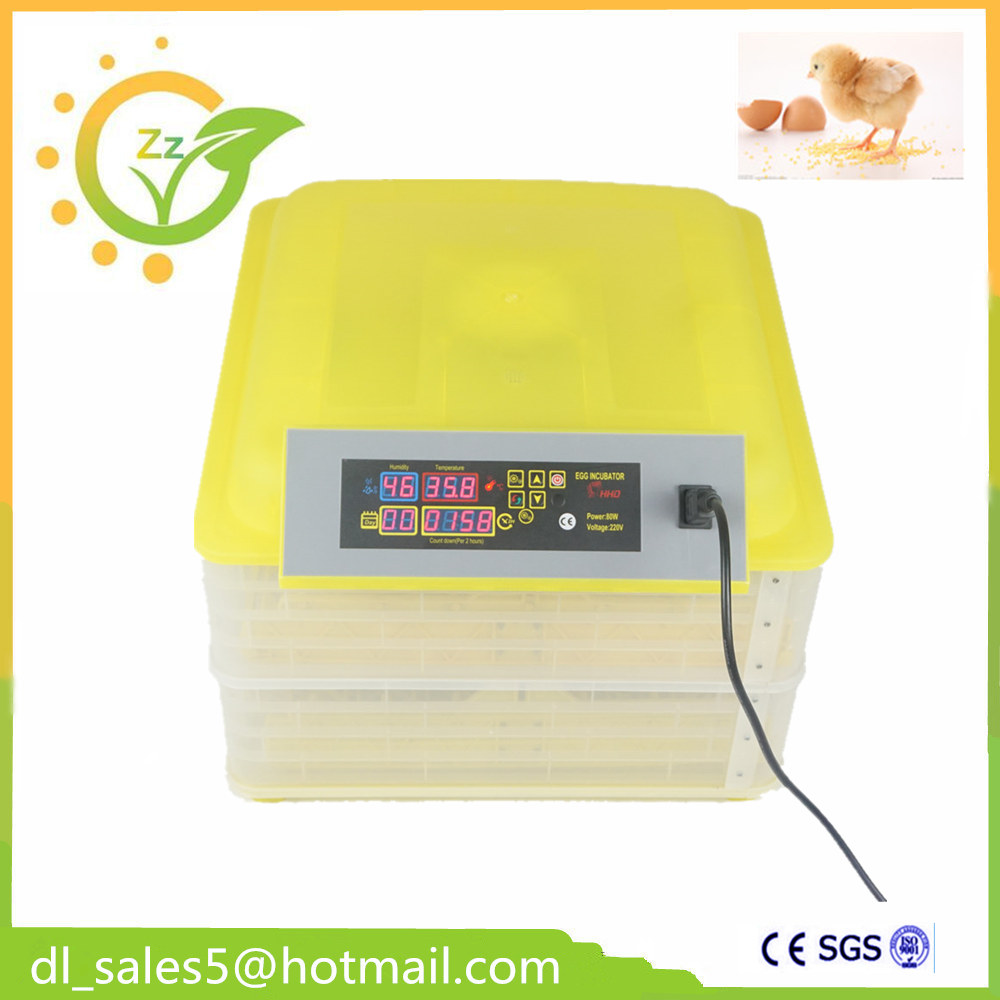 Hot selling mini digital small 96 egg incubator for both chicken and quail eggs