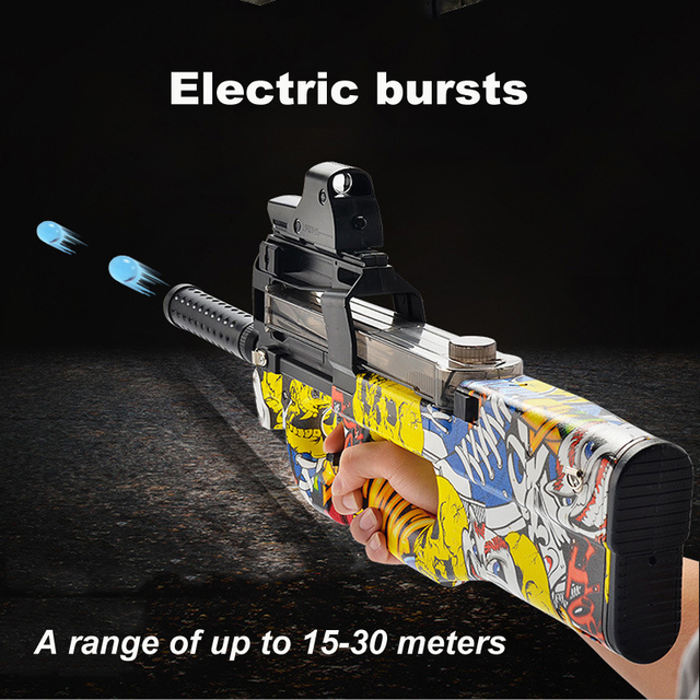 P90 Graffiti Edition Electric Toy Gun Package Outdoors Toys