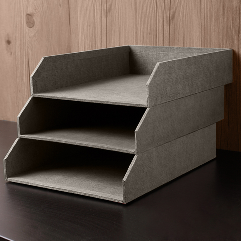 desk office file document paper. Desktop Office File Document Tray Drawer Finishing Rack Shelves Modular 4 Paper Storage Box Products-in Home From \u0026 Garden On Desk O