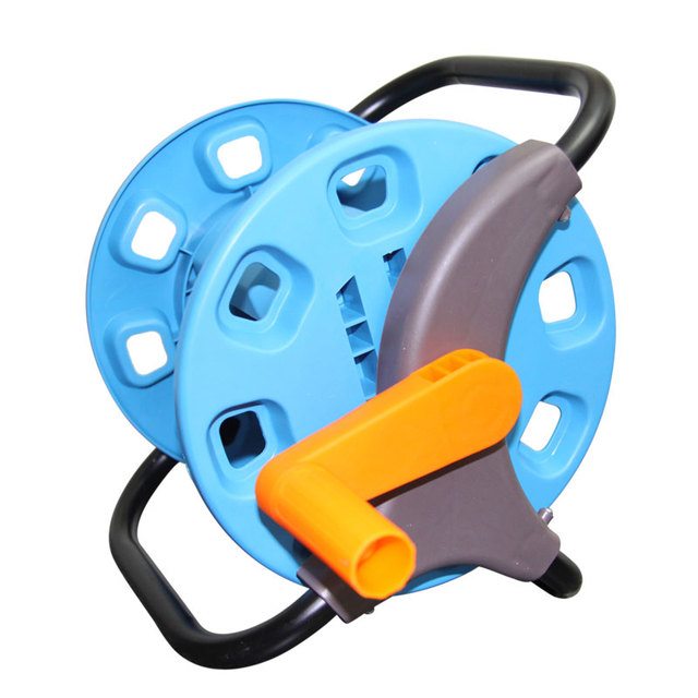 Ordinaire Hot Sale Magic Empty Hose Reels Small Garden Hose Cart Water Pipe Storage  Holder Save Space