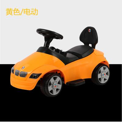 118 small BMW children electric vehicle four wheel remote control car with music 2-5 yea ...