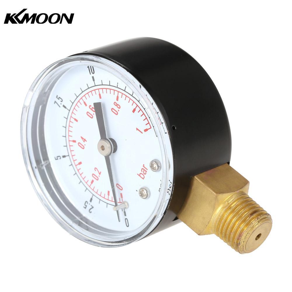 50mm manometer 0~15psi 0~1bar Water Pressure Dial ...