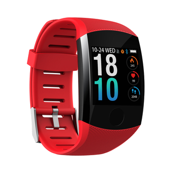 Q11 Smart Watch Waterproof Big Touch Screen OLED Message Heart Rate Time Smart band Fitness Activity Tracker Bracelet Wristband 4
