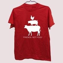 """""""Friends Not Food"""" Men T-shirt"""