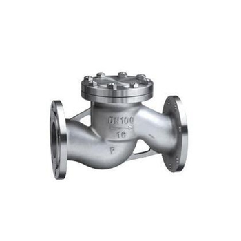 "DN15 - DN200 1/2"" - 8"" 304 stainless steel horizontal swing flange check valve  check valve H41W-16P"