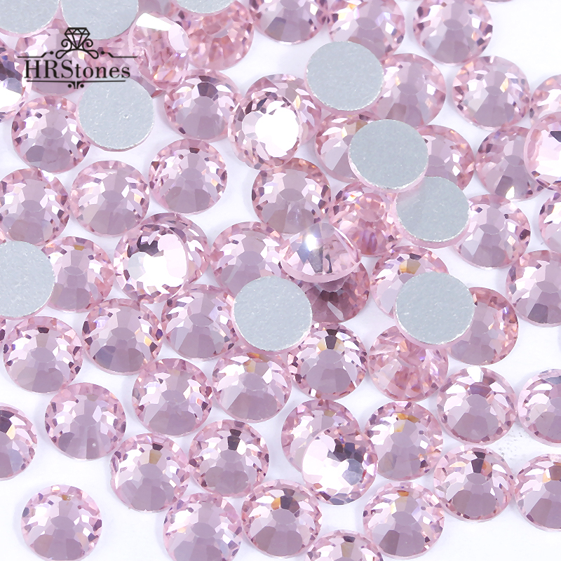 Super Glitter Shiny SS3 SS30 Non Hotfix Rhinestone Light Rose Color 3D Nail  Art Decorations Flatback Rhinestones-in Rhinestones from Home   Garden on  ... 5ed4a649f7a2