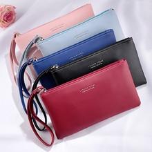 Women Wallet Long Fashion Zipper Clutch Hand Bag 2019 New Mobile Phone Bag Card