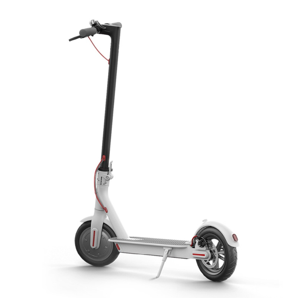 New Arrival 8.5 inch Electric Scooter with Smart Folding Electric Longboard in White/Black color 1