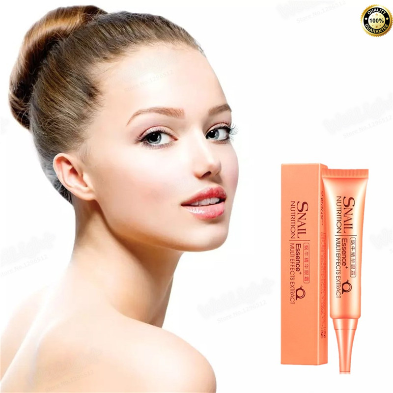 Wholesale Eye Cream Gold Snail Essence Granule Anti Repairing Dark Circles Bag Wrinkles For Females Lady Anti Puffiness