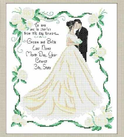 Embroidery Package Best Quality On Sale  Cross Stitch Kits Unopen New Luxurious Wedding Love Swear Free shipping