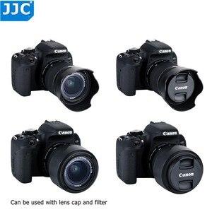 Image 2 - Capot dobjectif pour Canon EOS 90D 80D 70D 77D, Canon EF S 18 55mm f/3.5 5.6 is STM, Canon EF S 18 55mm f/4 5.6 is STM remplace EW 63C