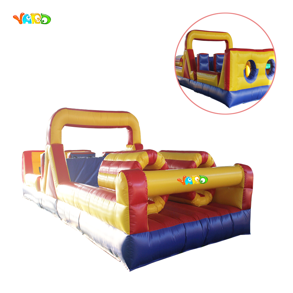 Top Grade Large Inflatable Obstacle Race for Rental Business