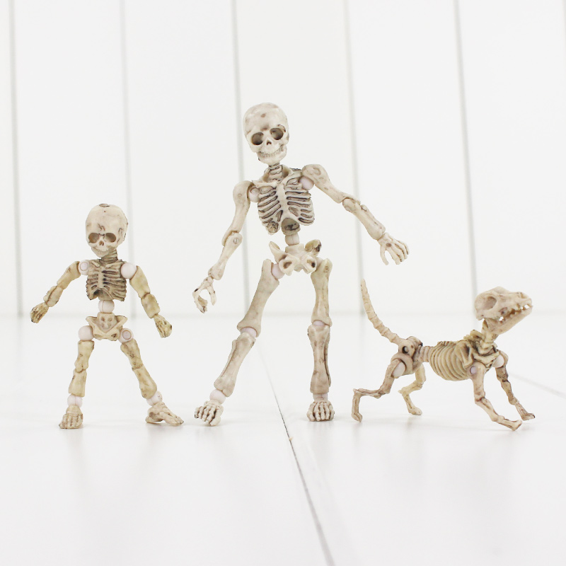 <font><b>Pose</b></font> <font><b>Skeleton</b></font> Mode PVC Figure Toy Human Child Dog <font><b>Skeleton</b></font> Body Chan Body Kun image