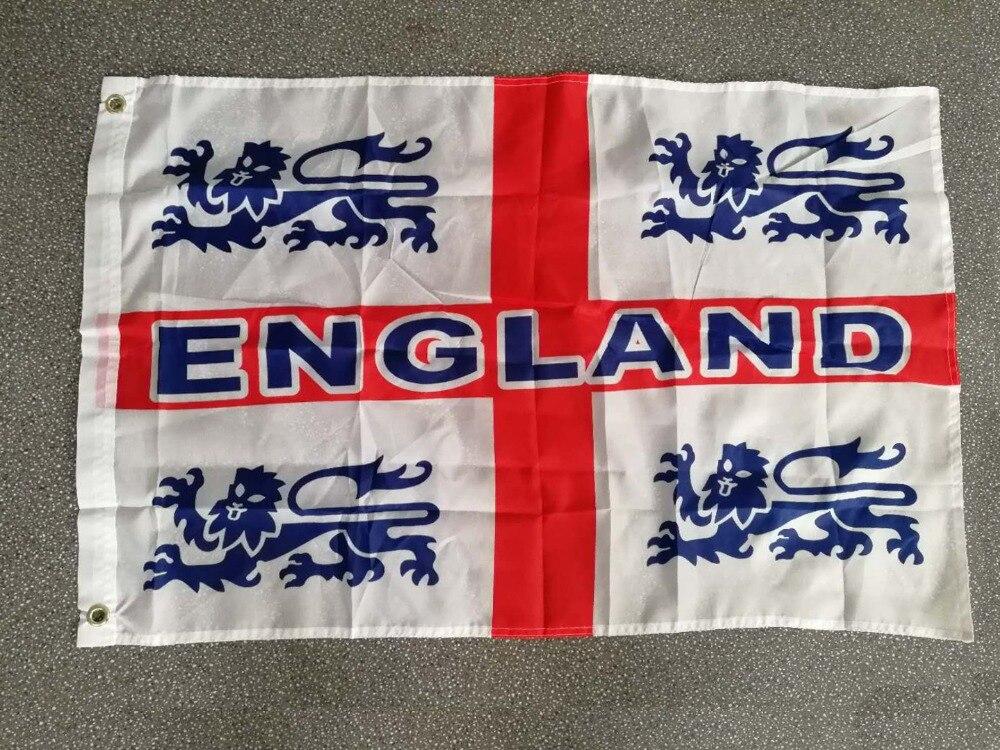 Haus & Garten Yehoy Hängen 60*90 Cm Rot Kreuz Uk England Lions Flagge Für Dekoration Diversifiziert In Der Verpackung