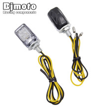 BJMOTO 10Pairs Auto Car ATV Truck License Plate Light Motorcycle Motorbike 6MM M6 Tag Screw Bolt Lamp 12V White Led Bulb