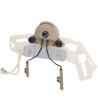 Akcesoria Tactical kask Kask Zestaw Słuchawkowy EXF Rail Adapter Ustawiony do pracy w Comtac I/II słuchawki