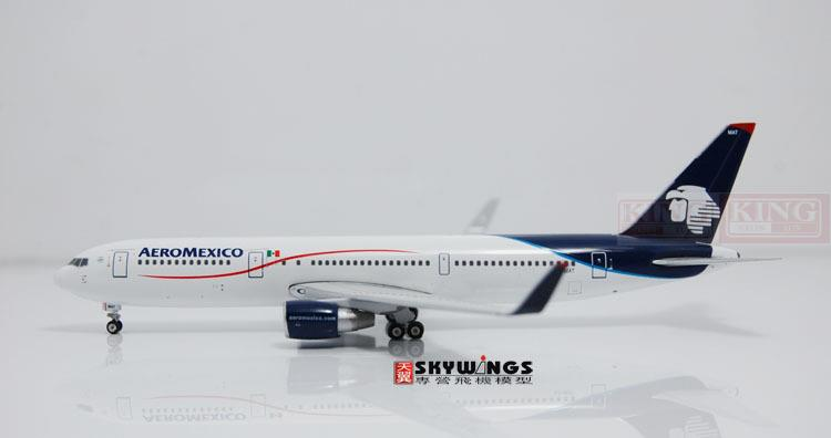 GJAMX1188 GeminiJets Mexico Airlines XA-MAT 1:400 commercial jetliners plane model hobby B767-300ER spike wings xx4380 jc china eastern airlines b 6126 1 400 people s network a330 300 commercial jetliners plane model hobby