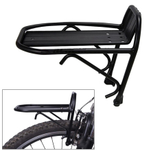 Hot Aluminum Alloy Bike Bicycle Front Rack Luggage Shelf Carrier Panniers Bracket Accessories MCK99
