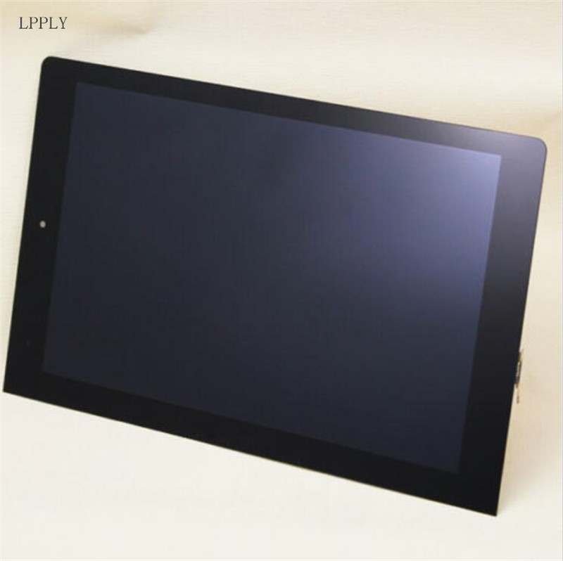LPPLY LCD assembly For Lenovo IdeaTab yoga tablet B8000 LCD Display Touch Screen Digitizer Glass Free Shipping 5 0 lcd display screen touch glass digitizer assembly for lenovo vibe p1m pantalla free shipping