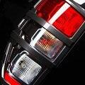 2016-2017 de fibra de carbono de color luces de cola para ford ranger T7 accesorios ABS car styling Exterior luces de cubierta ajuste Ycsunz